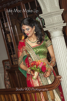 Indian Bride in evening Lengha.
