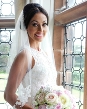 Gorgeous Bride of flawless natural Wedding Make up by Julie Mac